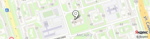 Городской детский реабилитационный центр на карте Алматы