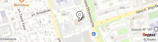 Сәтті на карте Алматы