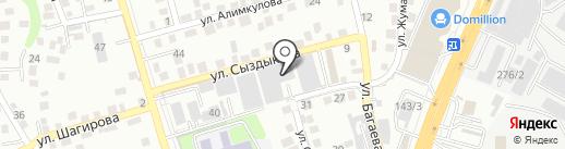 ТО КОНСТРУКТИВ на карте Алматы