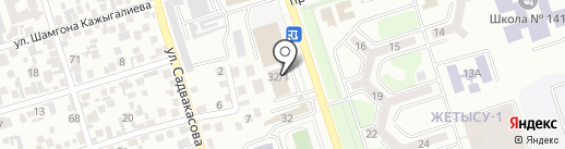 EM BU SU на карте Алматы