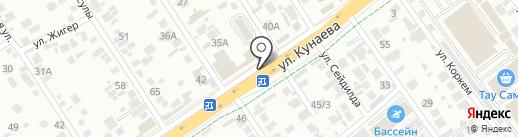 СУН-АР, ТОО на карте Алматы
