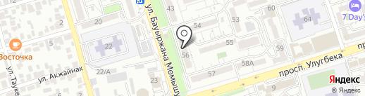 КАГАН на карте Алматы