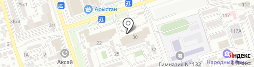 Сбербанк, ДБ АО на карте Алматы