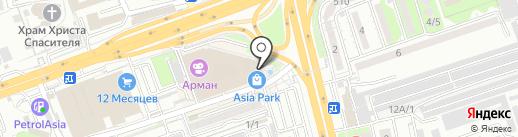AKKU на карте Алматы