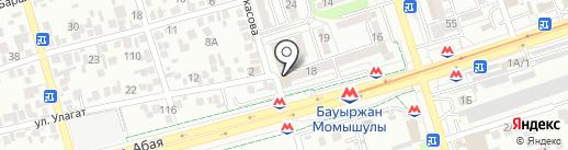 МТК Advertising, ТОО на карте Алматы