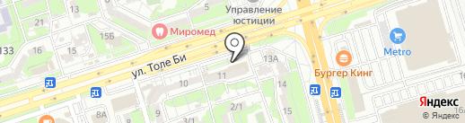 JLC на карте Алматы