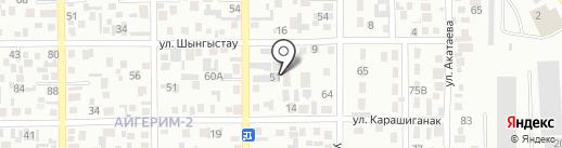 Салиқалы Ұрпақ на карте Алматы
