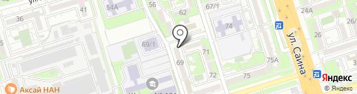 Iskernews.kz на карте Алматы