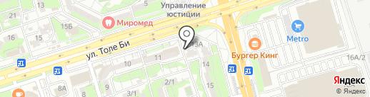 У Аллы на карте Алматы