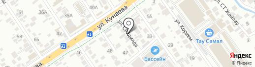 Международный правозащитный центр на карте Алматы