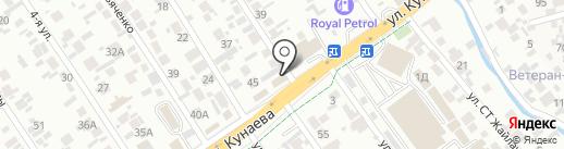 Магазин цветов на карте Алматы