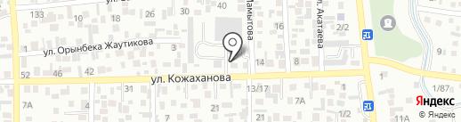 Табет 7, ТОО на карте Алматы