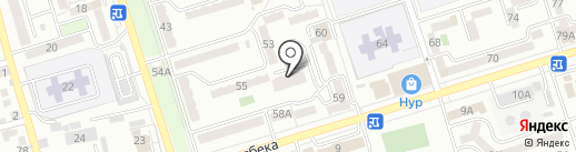 Клякса на карте Алматы