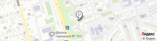 Шаровед Антошка на карте Алматы