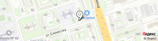 Пивной погребок на карте Алматы