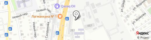 Дезус на карте Алматы