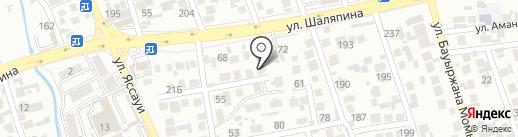 Аsker Collector Company на карте Алматы