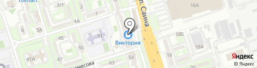 IV-Decor на карте Алматы