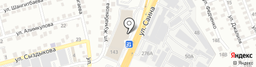 Gaber на карте Алматы