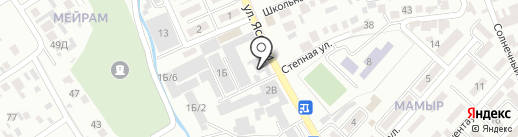 Проф Медикал на карте Алматы