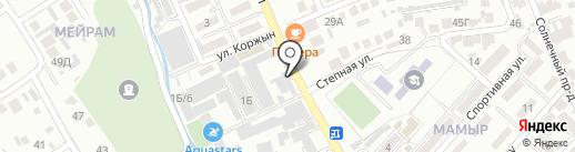 Медина на карте Алматы