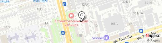 PROM ALP ASIA на карте Алматы