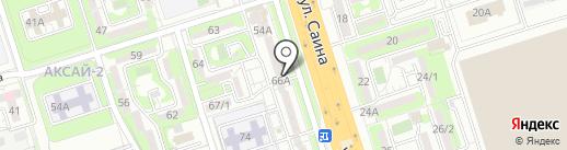 AN на карте Алматы