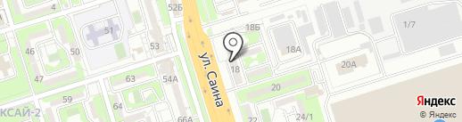 999 на карте Алматы