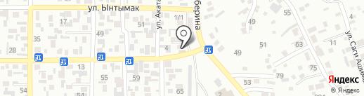Ильдинар на карте Алматы