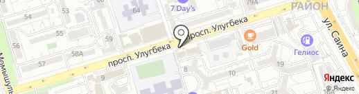 Центр педагогического мастерства на карте Алматы
