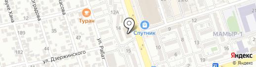 ДЭН Ломбард, ТОО на карте Алматы