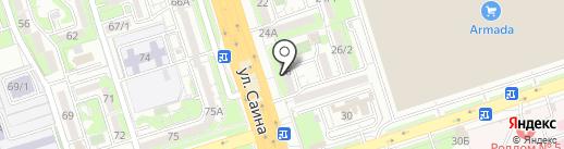 Айганым на карте Алматы