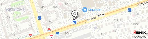 Алматы-Несие ломбард, ТОО на карте Алматы