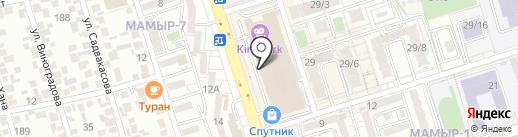 Burger Time на карте Алматы