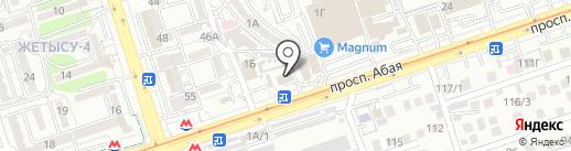 СПС-Центр на карте Алматы