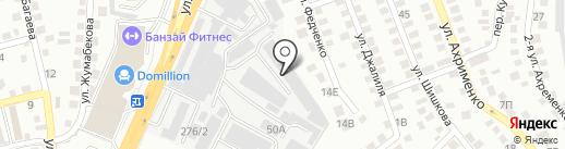 Алматы Сервис на карте Алматы