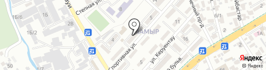 ТОО Galaxy International, ТОО на карте Алматы