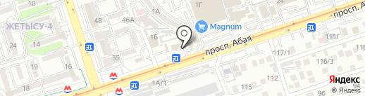 Fish & grill на карте Алматы