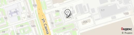 A-Style на карте Алматы