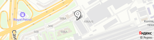 Выше Крыши на карте Алматы