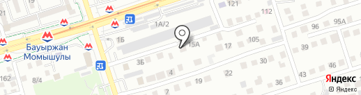 SAP Kazstroy, ТОО на карте Алматы