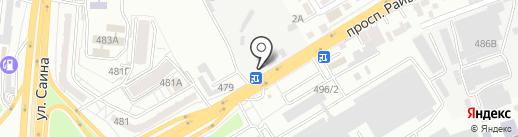Лавка на карте Алматы