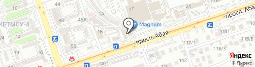 Тумар на карте Алматы