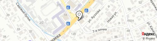 GEFEST на карте Алматы