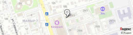 Бенефис на карте Алматы