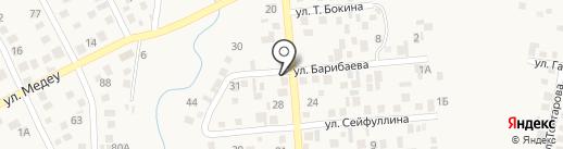 Жанибек на карте Боралдая