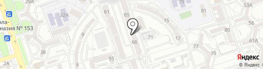 Нур-Мади на карте Алматы