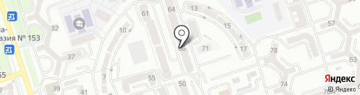 Cоляная сауна на карте Алматы