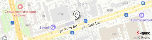 Tiara Matrix на карте Алматы