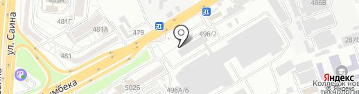 Индастриал Трейд Компани на карте Алматы